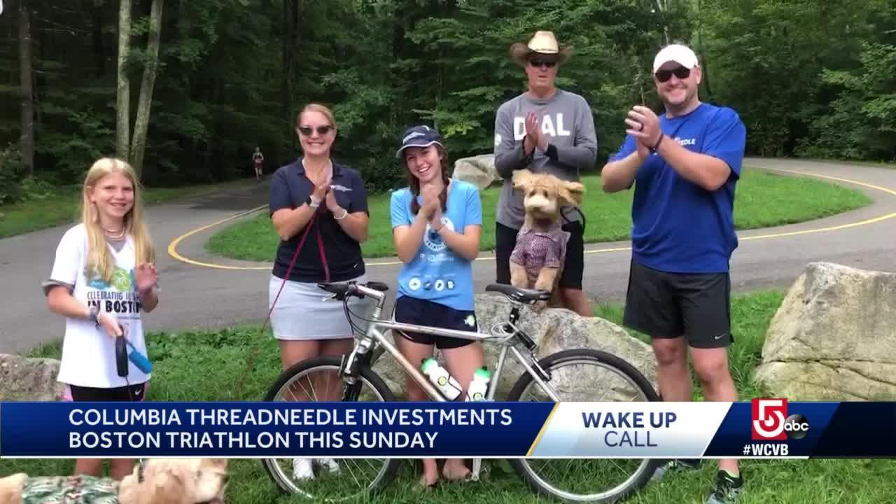 Wake Up Call from Columbia Threadneedle Investments Boston Triathlon