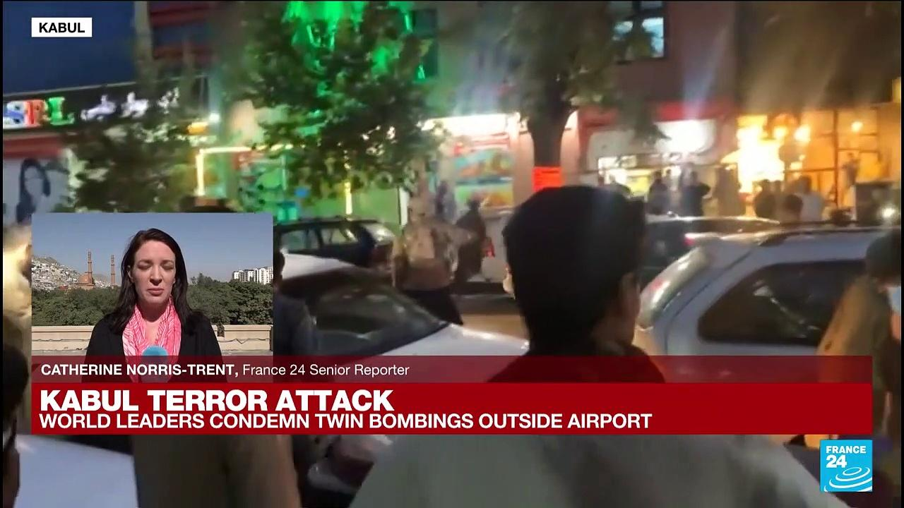 'Kabul is still reeling from the deadly attacks of Thursday' - Catherine Norris-Trent reports from Kabul