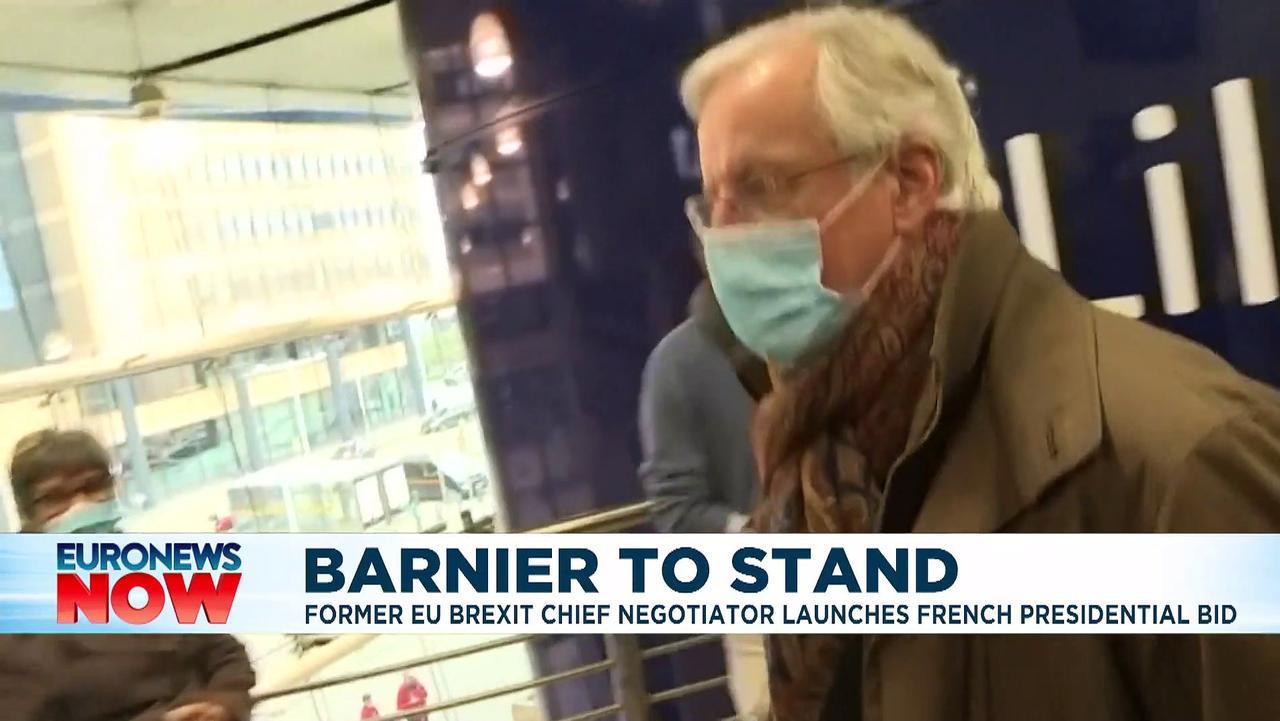 EU's Brexit negotiator Michel Barnier says he will run in French presidential primary