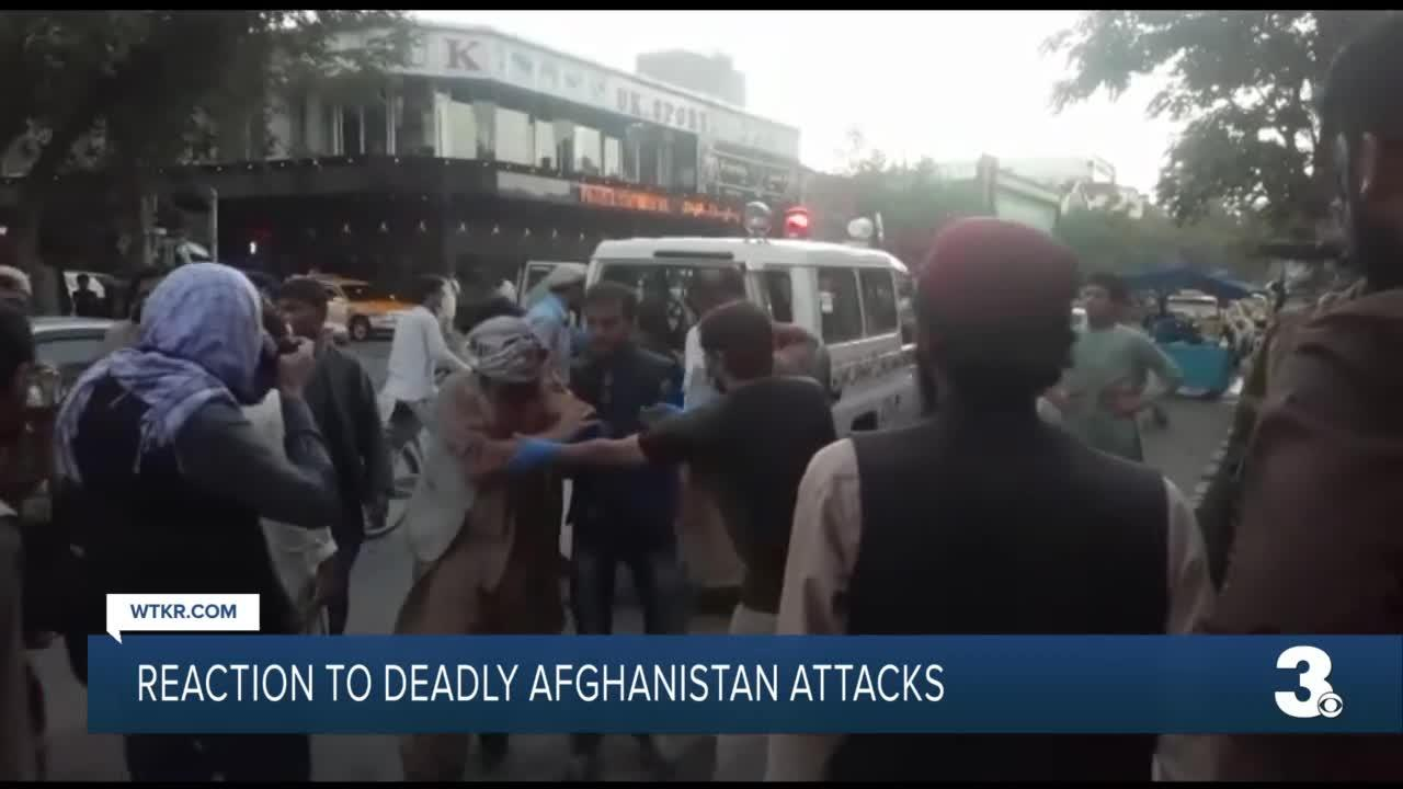 Rep. Elaine Luria weighs in on deadly Afghanistan attack