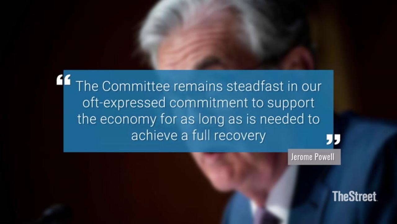 Jerome Powell's Virtual Address: Highlights, Fed's Path Forward