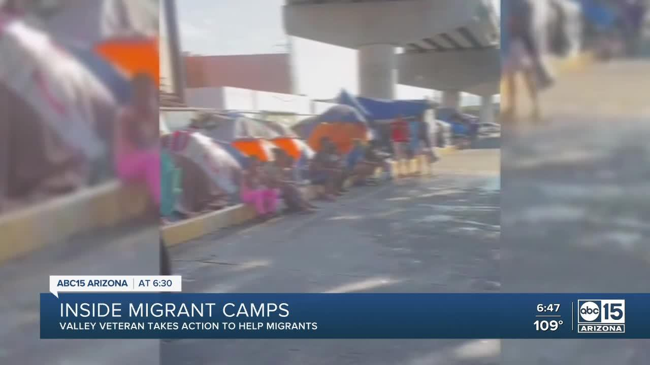 Valley residents stepping in to help asylum seekers forced to live in camps
