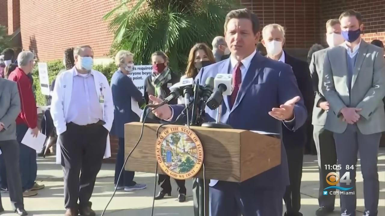 Florida Judge Overturns Gov. DeSantis On Masks