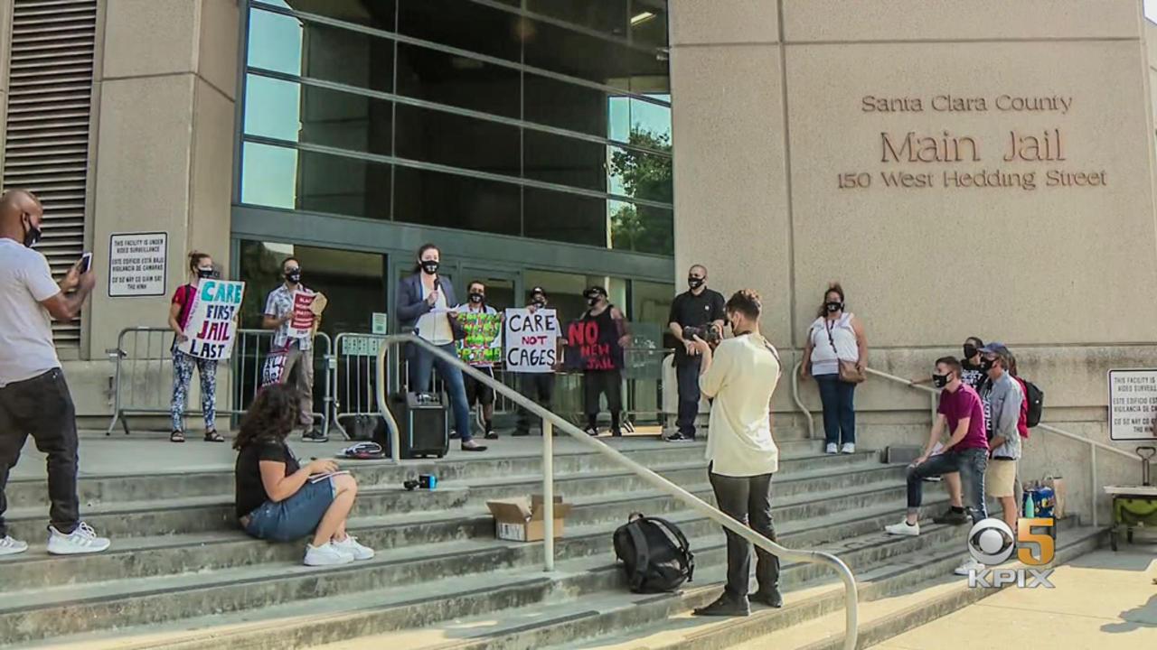 Dozens Protest Plan for New Santa Clara County Main Jail, Sheriff