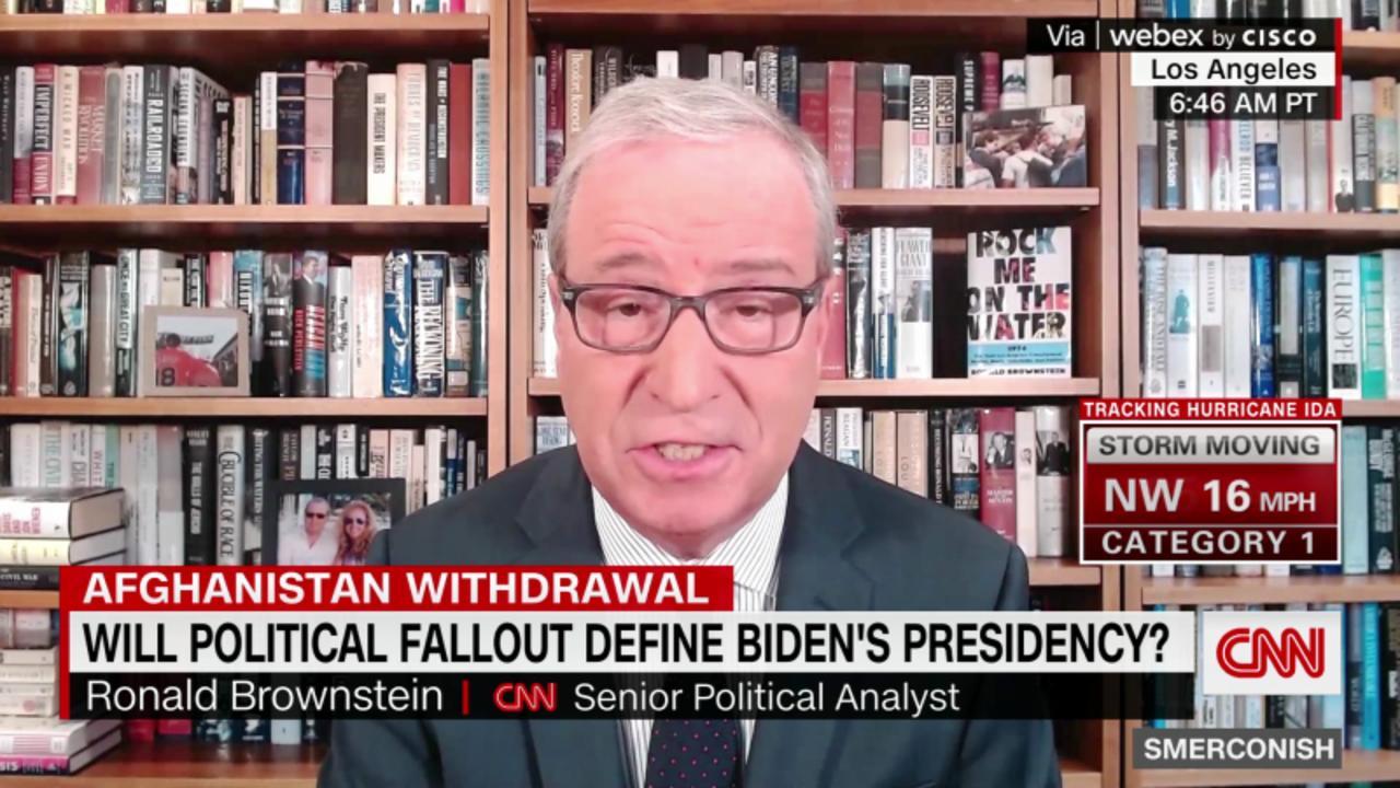Will political fallout of Afghan define Biden Presidency?