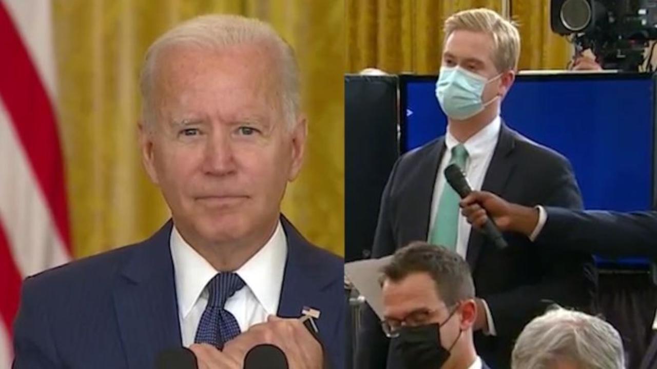 See 'revealing' exchange between Biden and Fox News reporter on Afghanistan