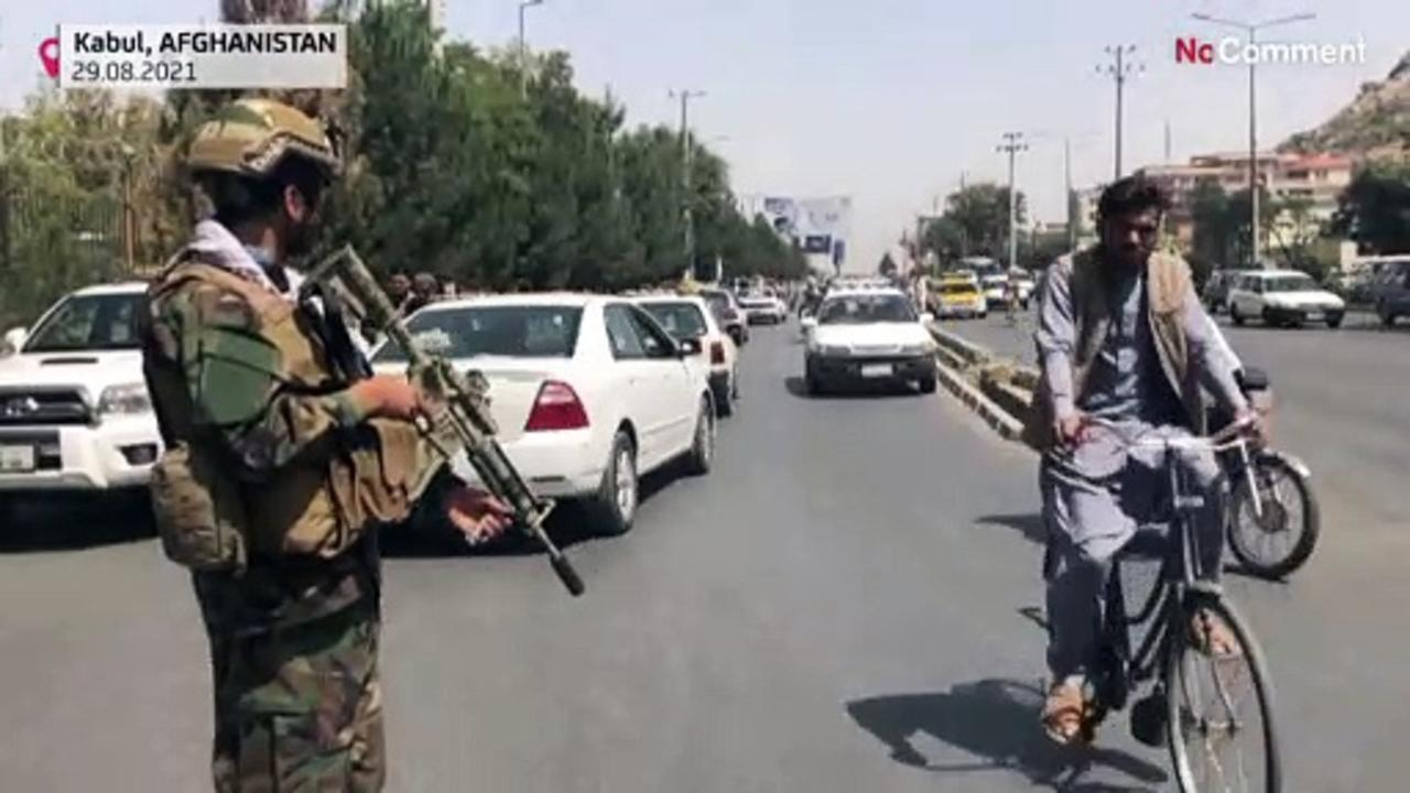Taliban special forces unit guards Kabul streets