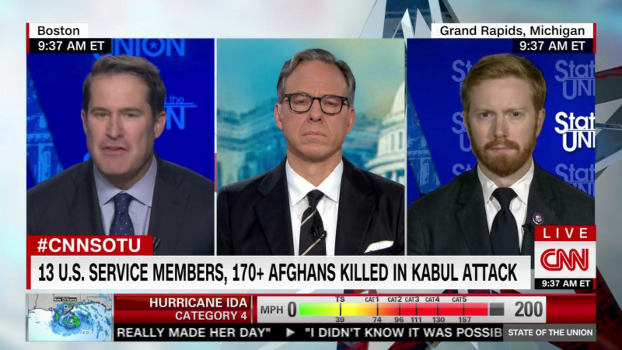 Reps. Moulton, Meijer on what they saw on the ground at Kabul airport