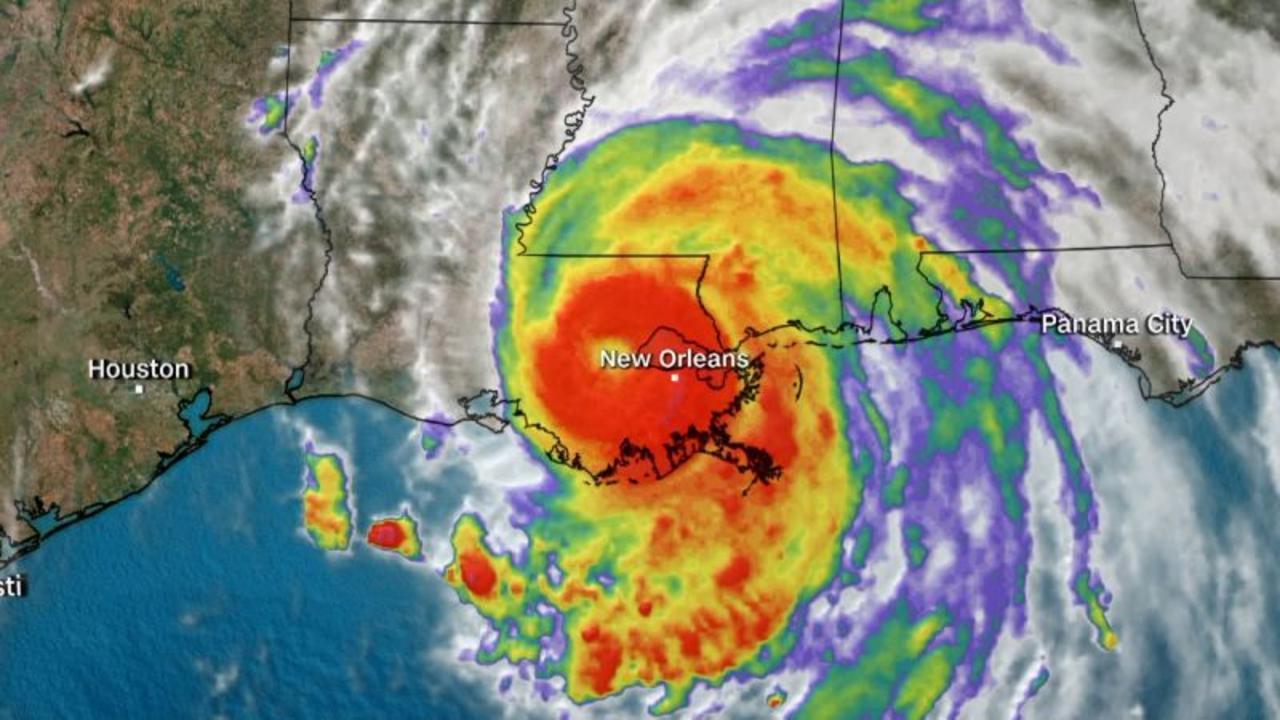 Mayor describes 'catstrophic' damage from Hurricane Ida