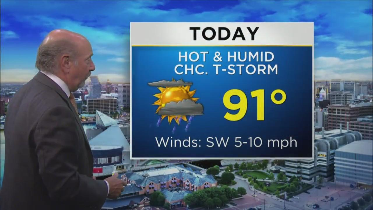 Monday Morning Weather With Marty Bass