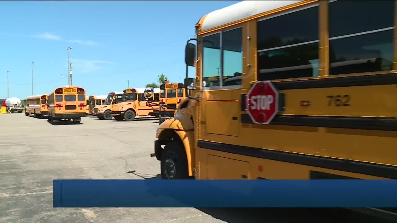 Mom hopes pay boost fixes Chesterfield bus driver shortage: 'It's frustrating'