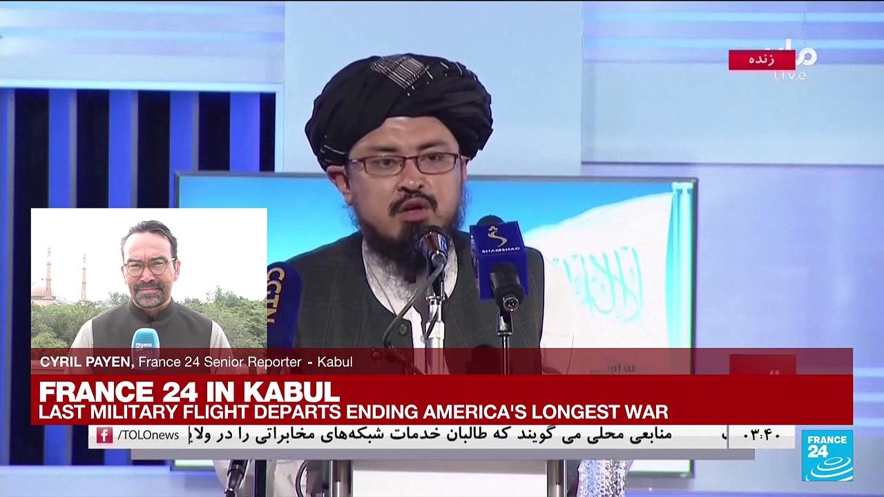 FRANCE 24 in Kabul: Taliban celebrate victory after US troops withdraw from Afghanistan