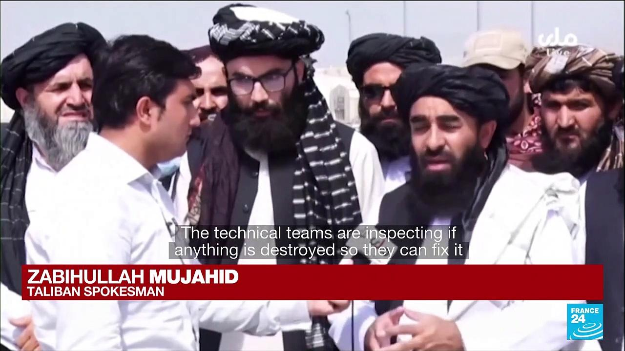 Afghanistan: Taliban in full control of Kabul airport
