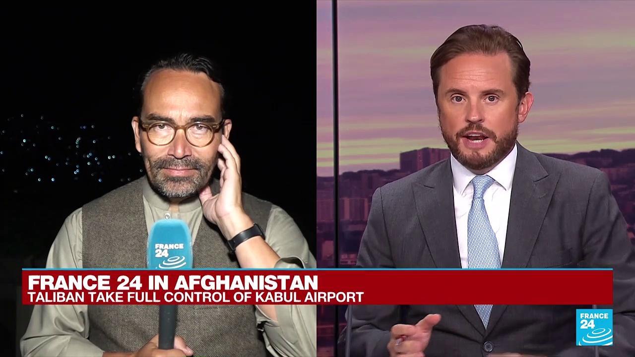FRANCE 24 in Kabul: Taliban celebrate US departure, take control of Kabul airport