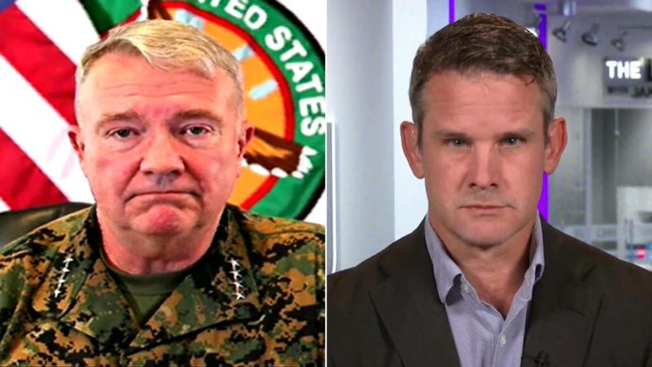 Kinzinger reacts to McKenzie calling Taliban 'pragmatic and business-like'