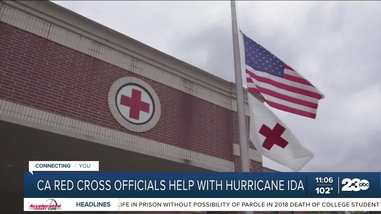 Red Cross sends help out following Hurricane Ida