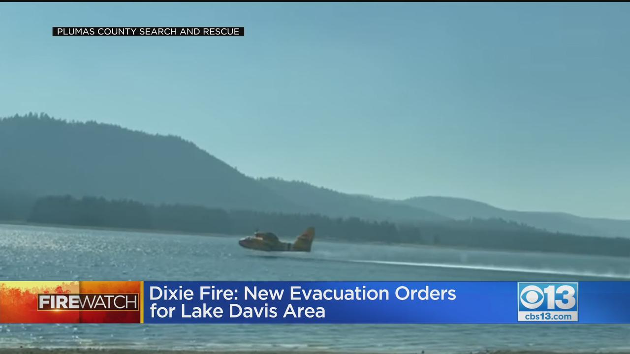 Mandatory Evacuations Issued For Lake Davis Area Due To Dixie Fire