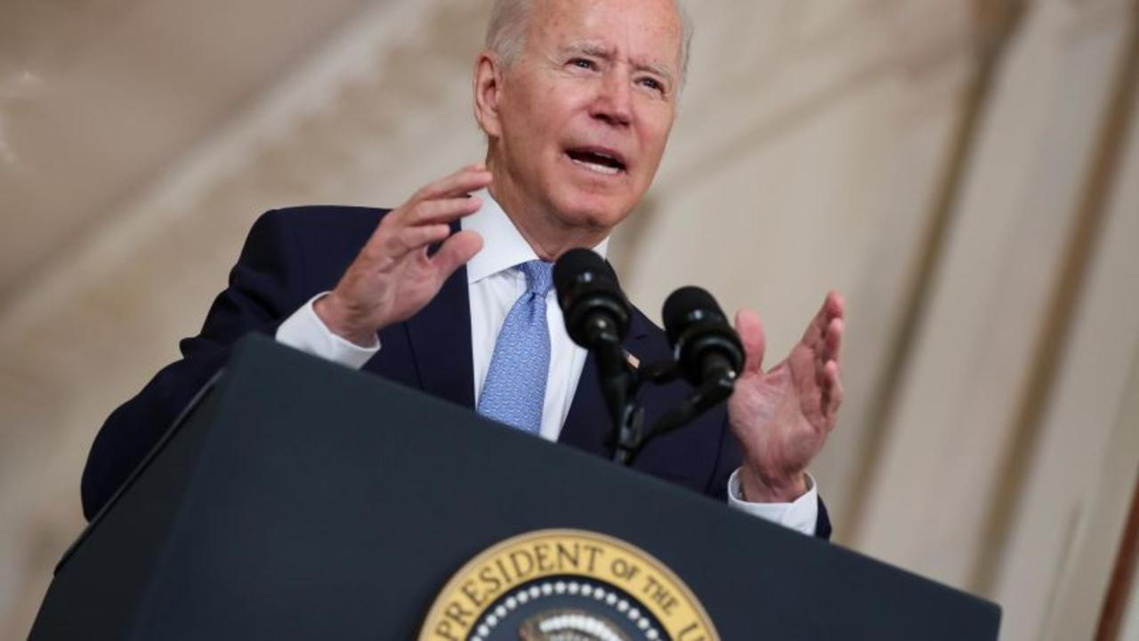 See Biden's message to remaining Americans in Afghanistan