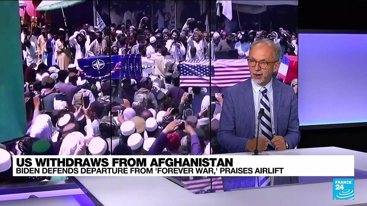 Biden fends off criticism of US exit from Afghanistan