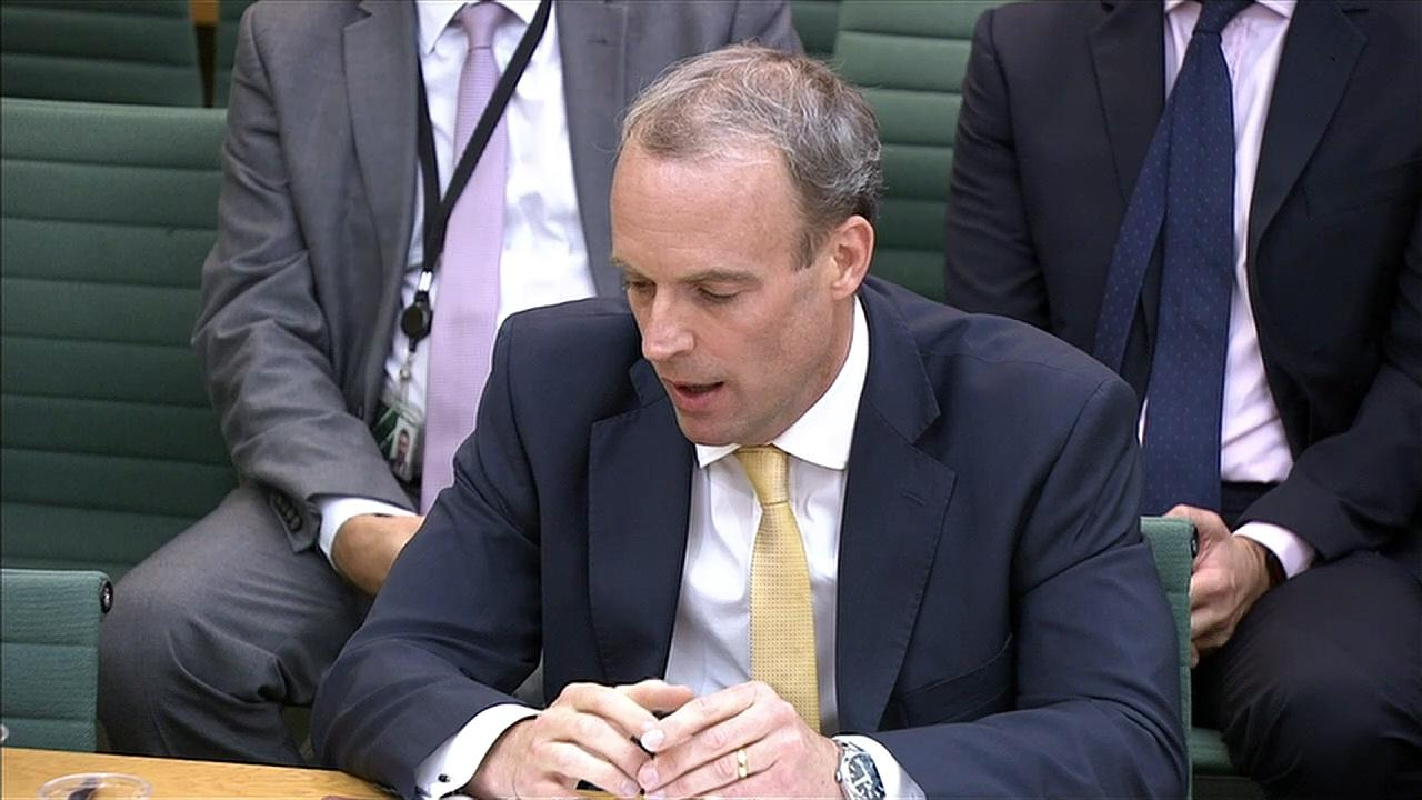 Raab: UK believed Kabul was 'unlikely' to fall this year