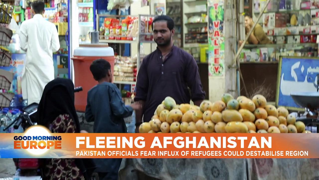 'They captured my whole family and killed them': meet the Afghans escaping across land to Pakistan