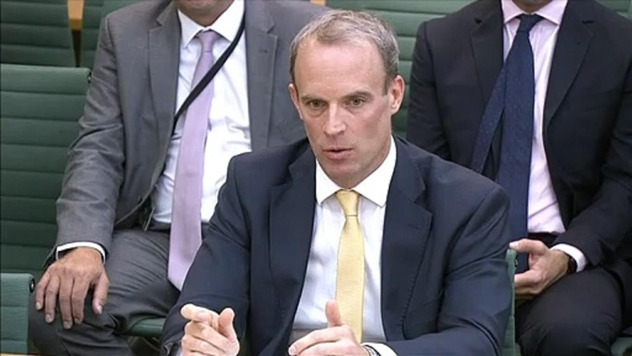 Afghanistan: Dominic Raab grilled by MPs over Crete holiday