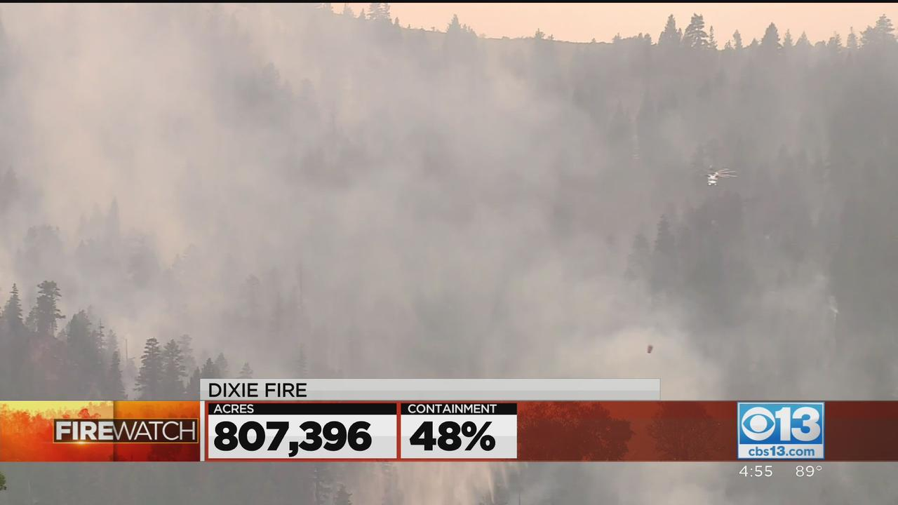 Containment On The 800K-Acre Dixie Fire Remains At 48%