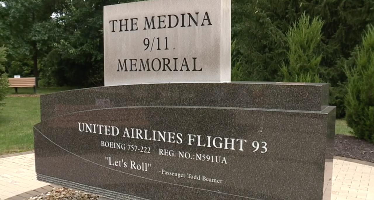 Cyclists stop in Medina while riding from Bay Area to Brooklyn to honor lives lost in 9/11