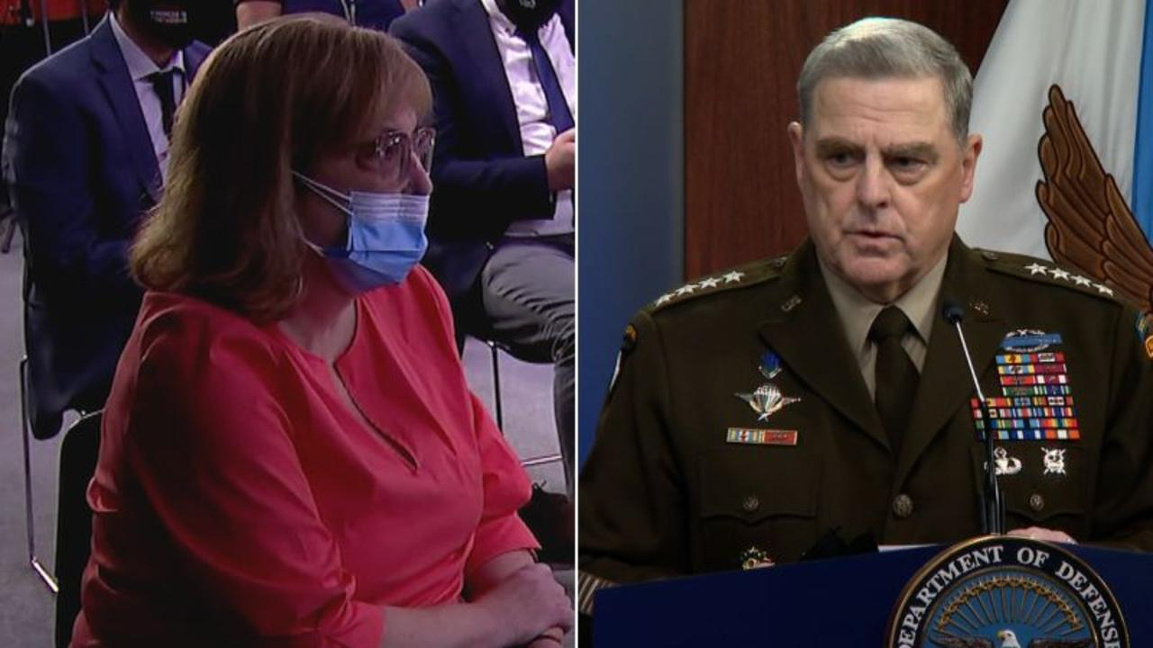 Top general asked about his pain and anger. See his response