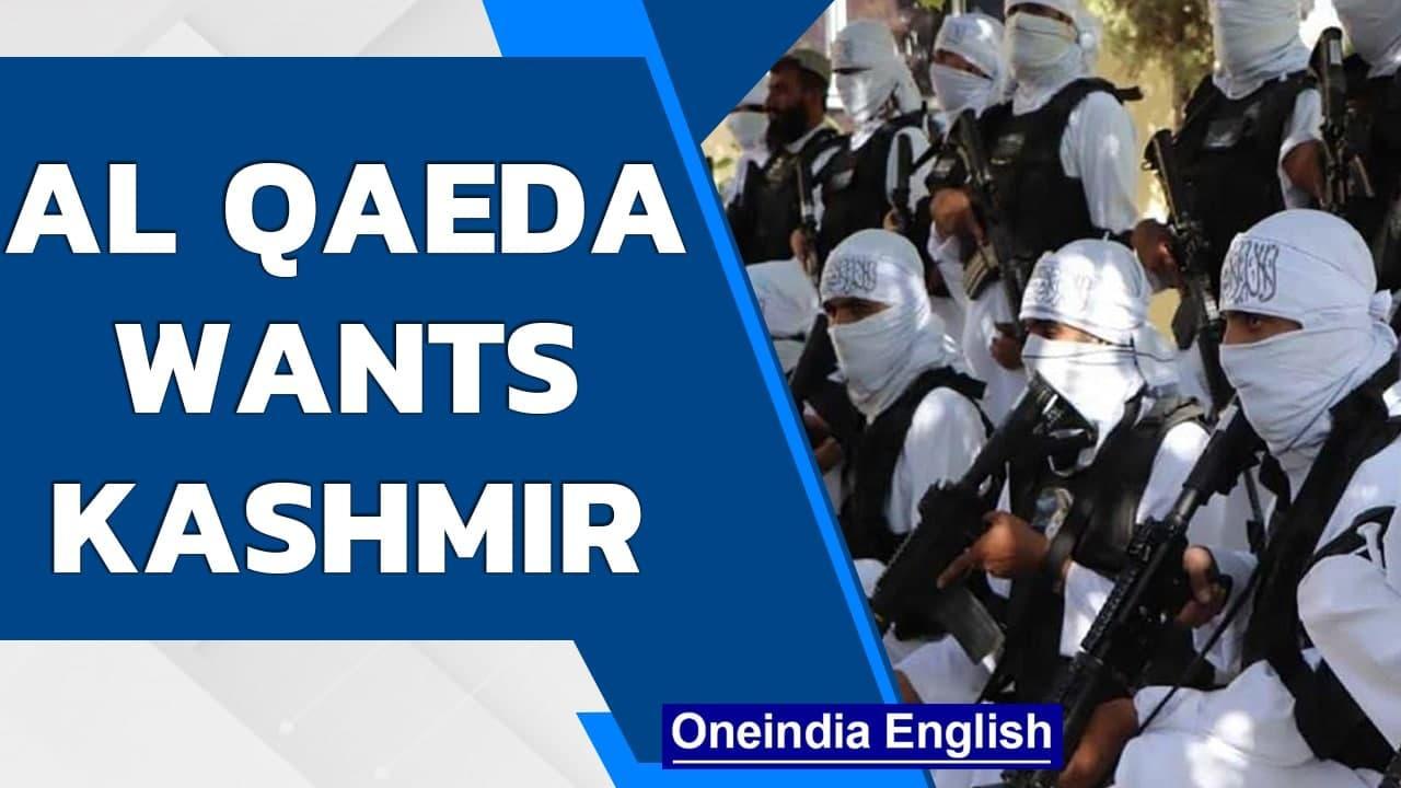 Kashmir will be liberated next says Al Qaeda while praising Taliban  Oneindia News