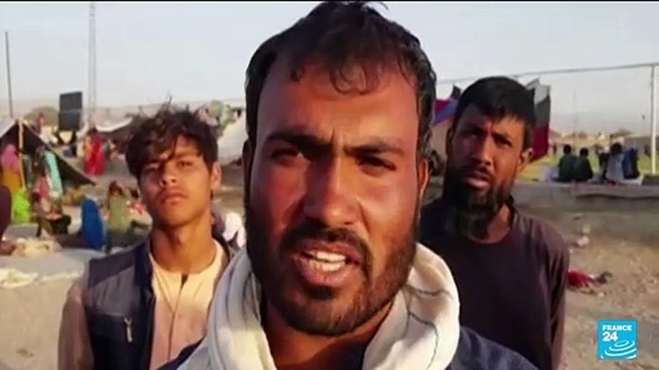 Afghan families flee the Taliban into Pakistan: 'We have come here because of misery and poverty'