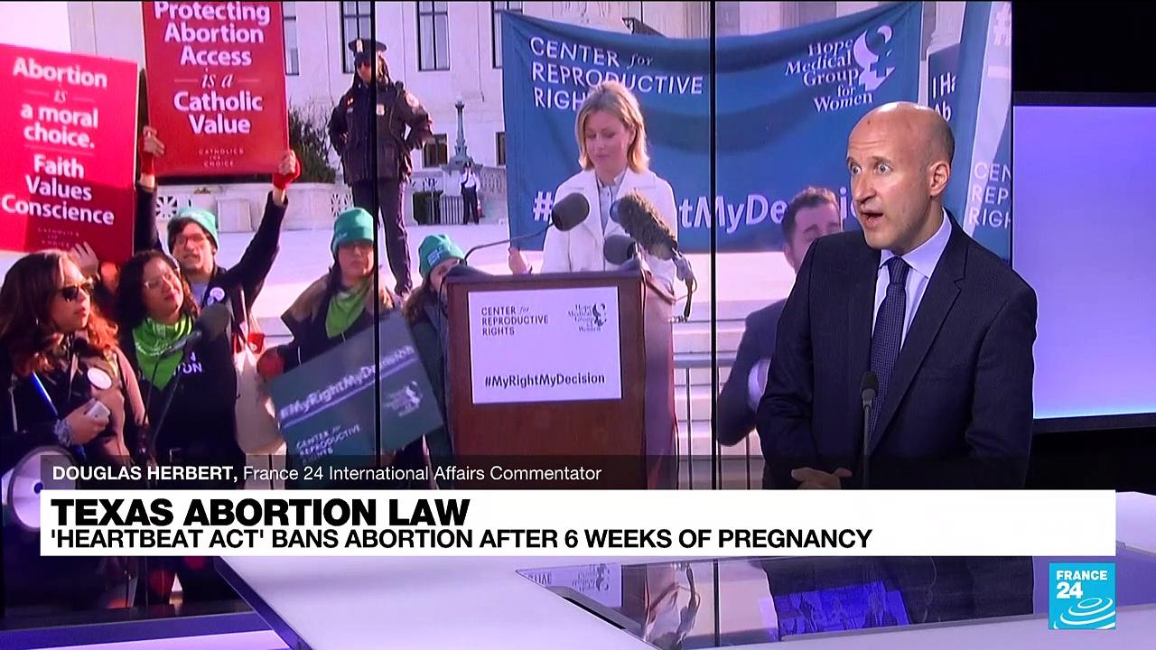 Texas abortion law: activists take to the streets to protest the new ban