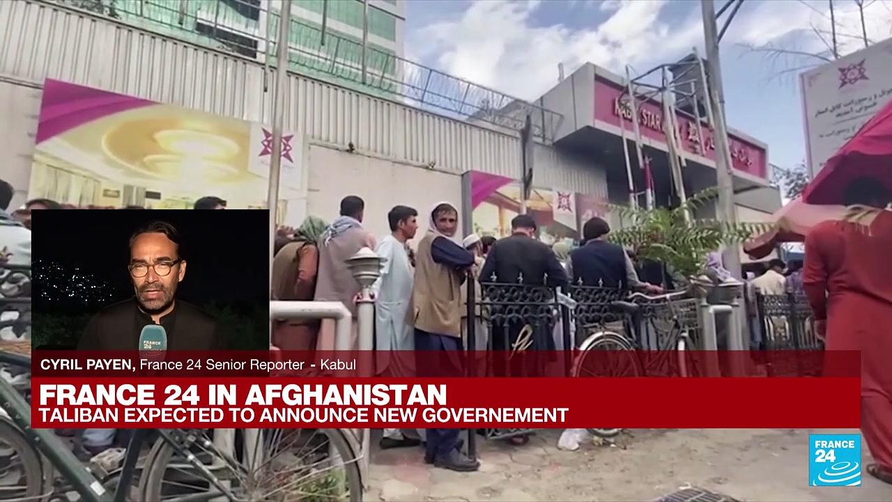 France 24 in Kabul: Taliban expected to announce new government
