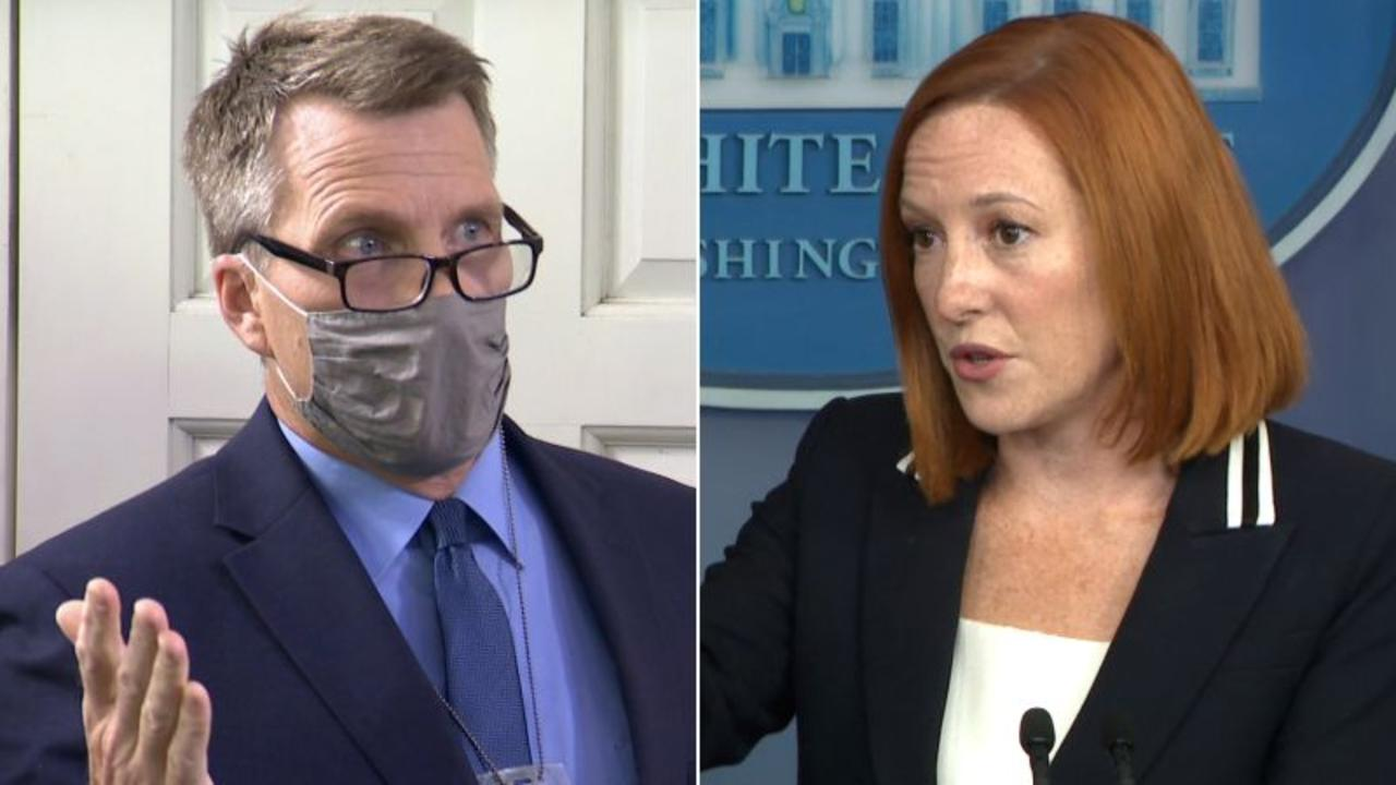 Psaki fires back at male reporter's abortion question