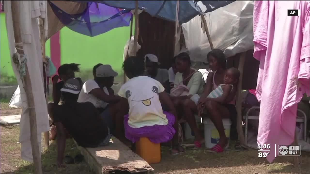 Several agencies work together to help Haiti recover