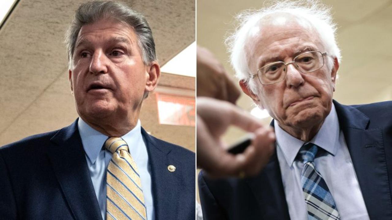 'Hell no, Bernie': Manchin reveals talk with Sanders about key bill