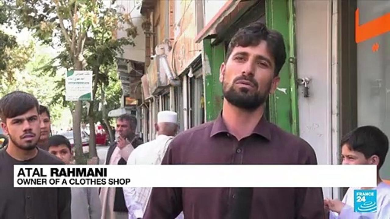 New era for Afghanistan starts with long queues outside banks, rising prices