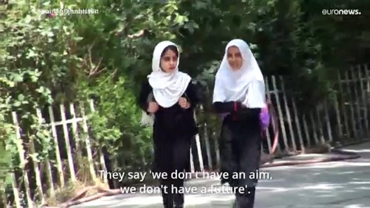 Female Afghan students feel 'hopeless' about future under Taliban rule