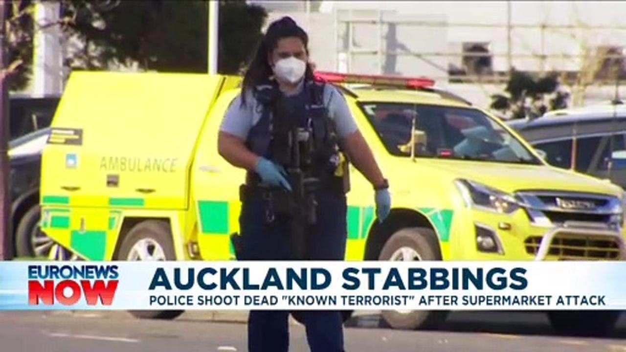 New Zealand police kill 'terrorist' after he stabs 6 people in Auckland supermarket