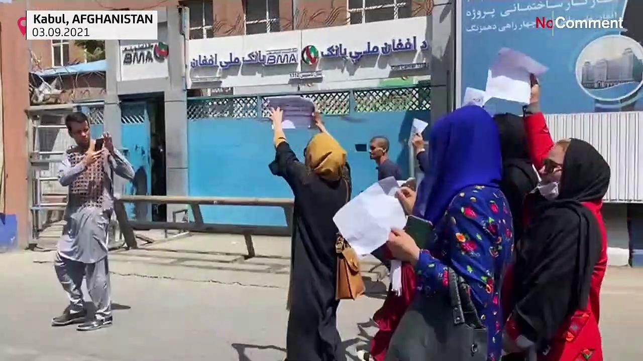 Afghan women blame international community for 'abandoning' them