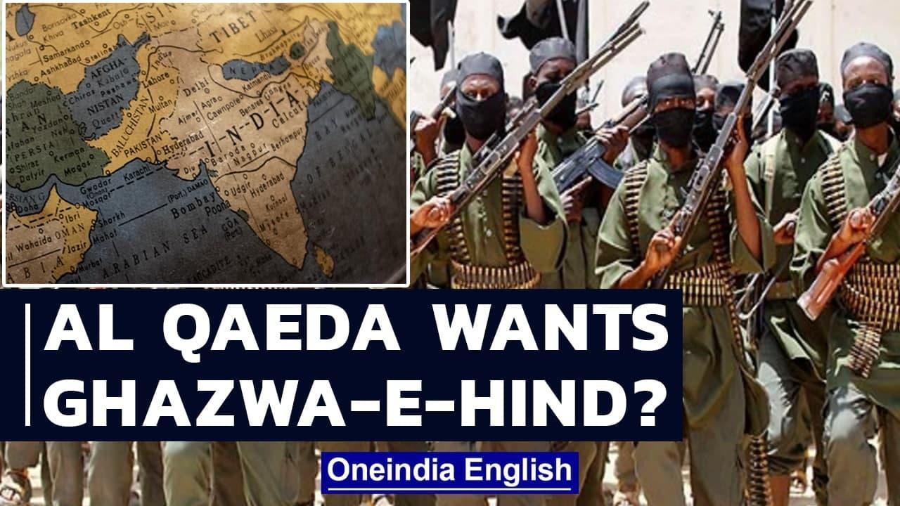 Al Qaeda's call for Kashmir liberation is call for Ghazwa-e-Hind? | Oneindia News
