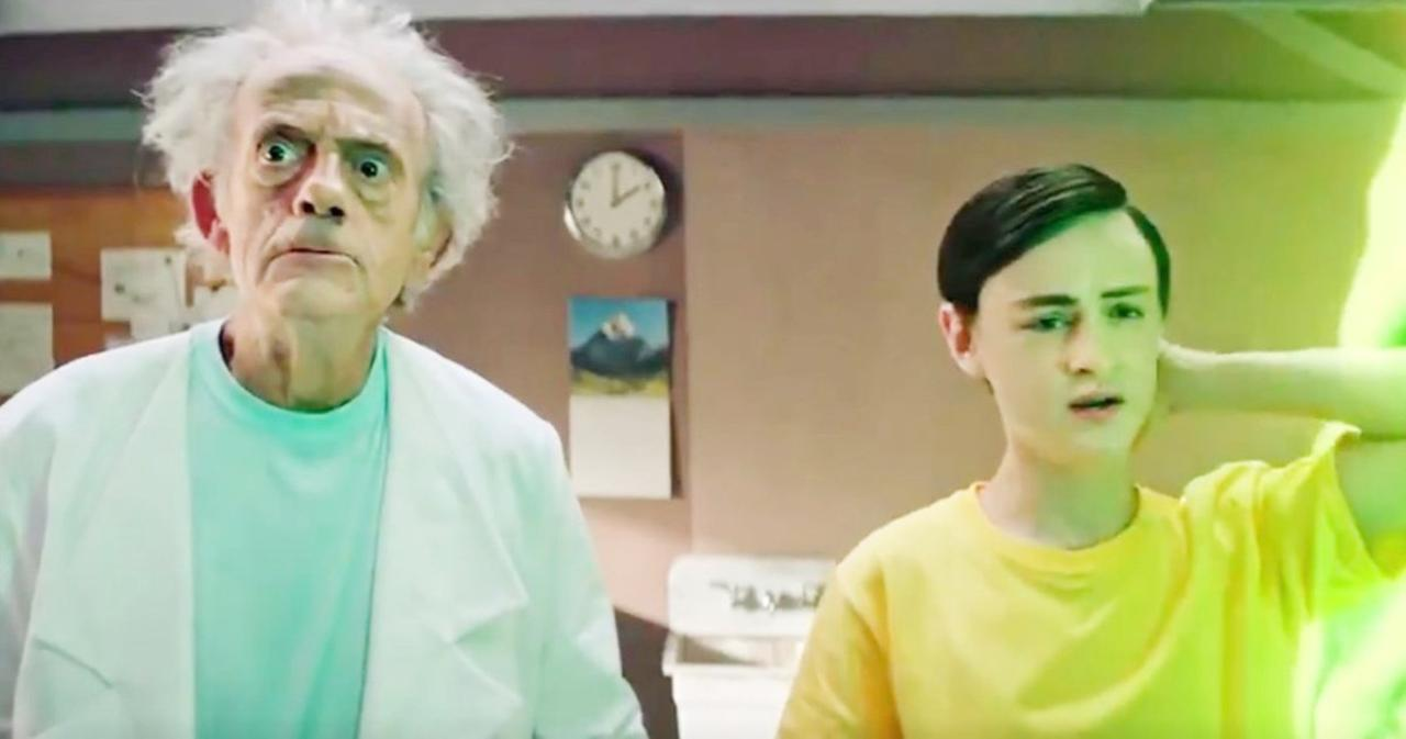 'Rick and Morty' Live-Action Promo Features Christopher Lloyd as Rick Sanchez