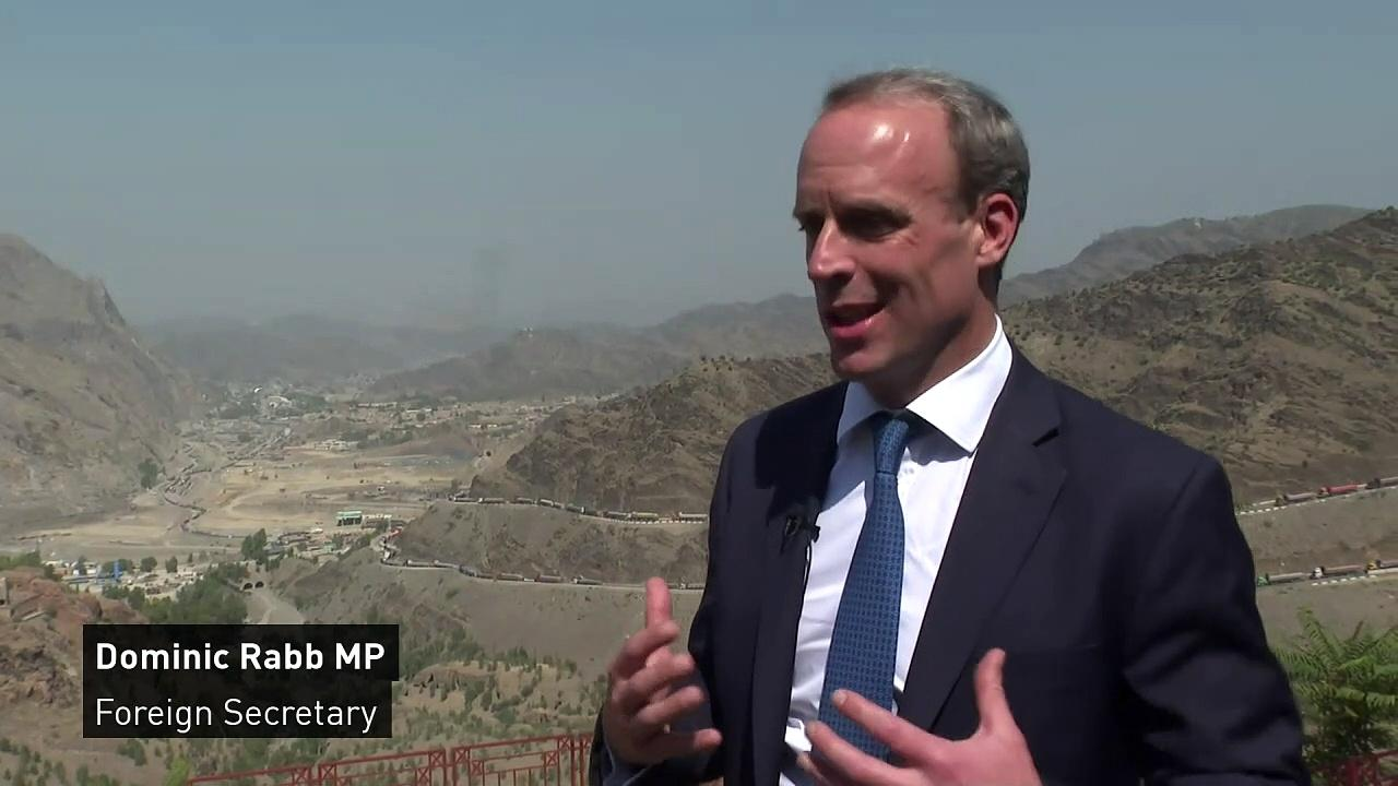 Raab on continued efforts to allow people out of Afghanistan