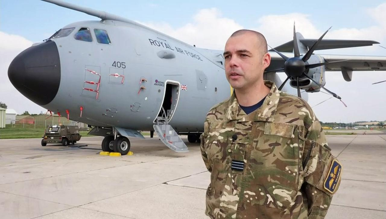 RAF crews talk about Operation Pitting in Afghanistan