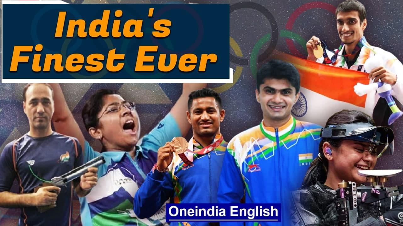 Tokyo Paralympics 2021    India's Finest Ever 5 Gold, 8 Silver and 6 Bronze   Oneindia News