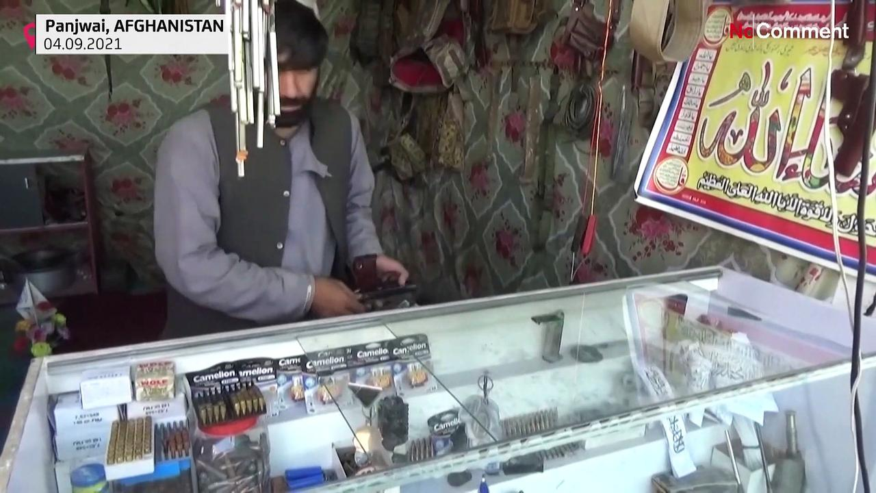 Boom time for Afghan arms dealers in Taliban heartland