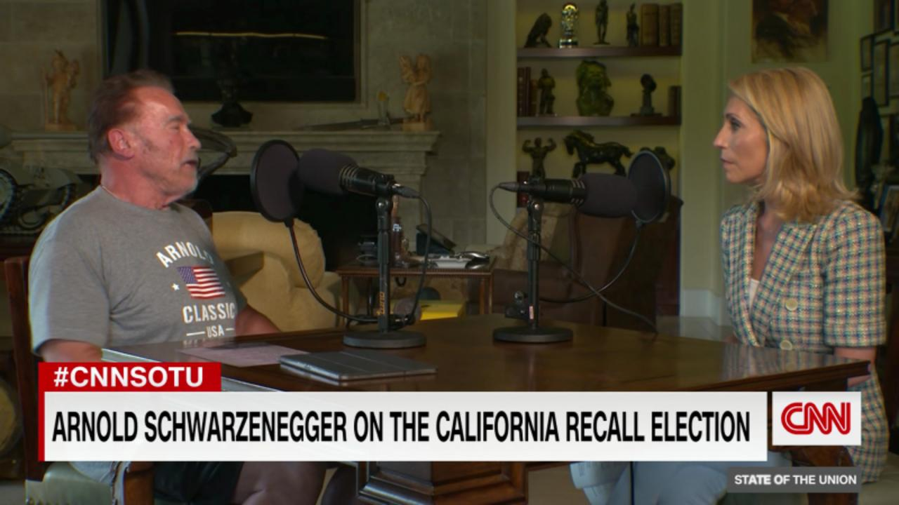 Hear what Arnold Schwarzenegger thinks about the California recall election