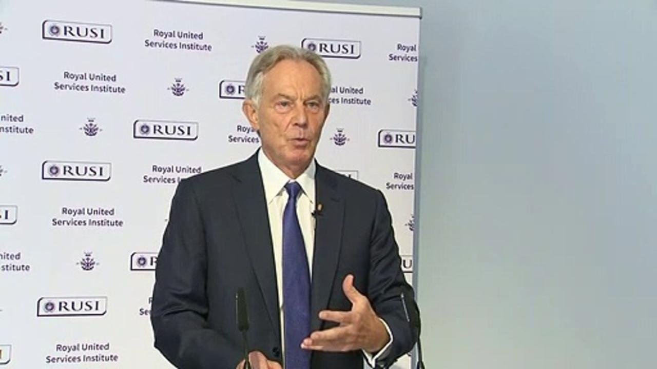 Tony Blair: Islamism is a 'first order security threat'