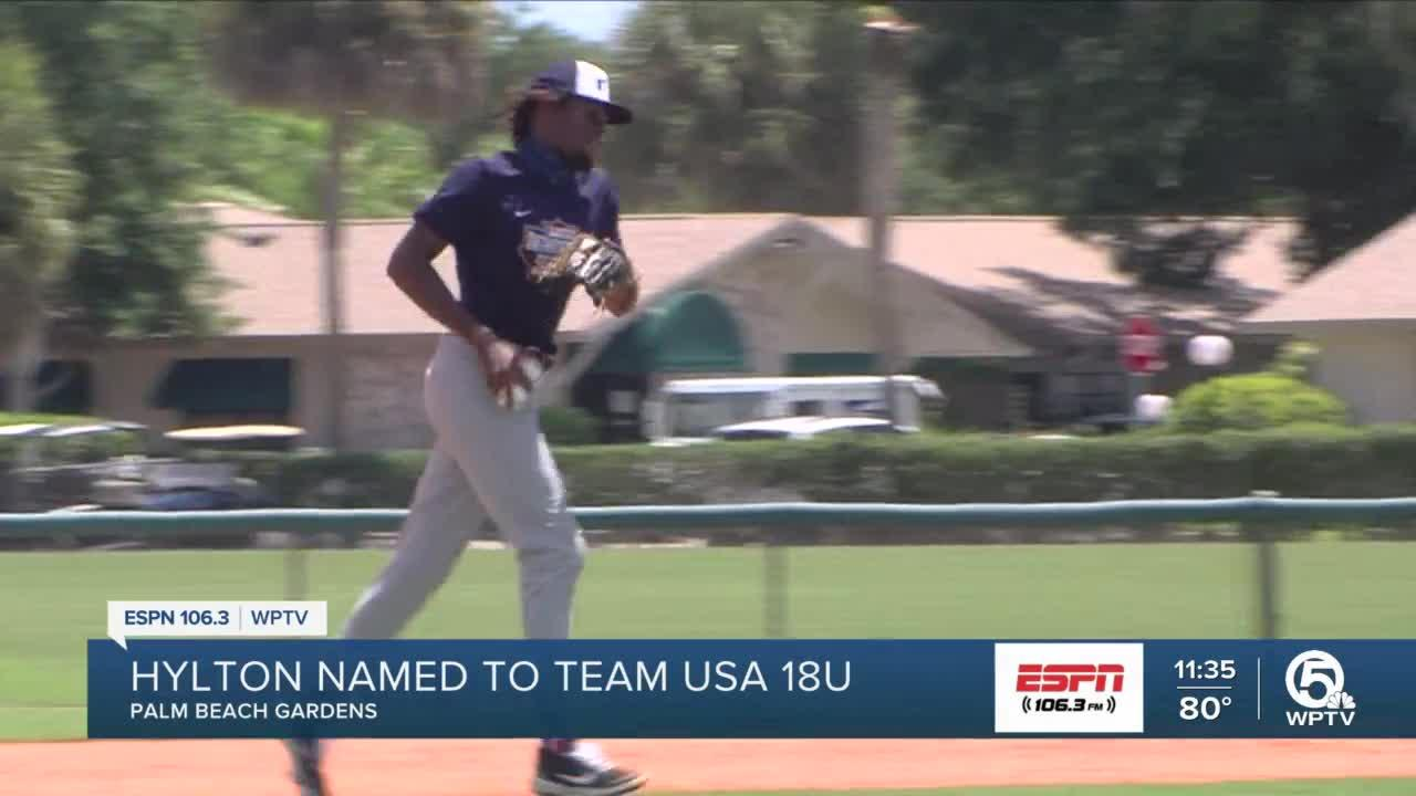 Jayden Hylton makes Team USA Baseball U18 Team