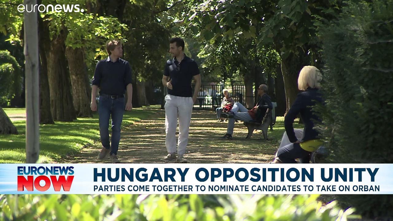 Hungary's opposition unites in bid to oust Viktor Orban from power